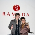 The participants of 2Normal band, Anna Dobridneva and Artem Meh, enjoyed the new design of Ramada Donetsk rooms.